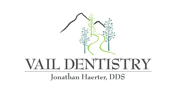 Logo of Vail Dentistry to introduce our dentist Edwards