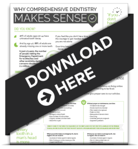 Download Vail Dentistry's Edwards, Colorado Infographic: Why Comprehensive Dentistry Makes Sense