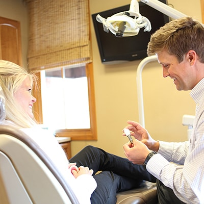 Our patients are the main focus for the Vail Dentistry team.