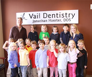 Dr. Haerter participates with Eagle County Smiles