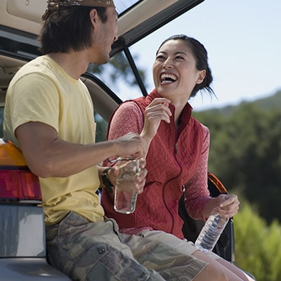 Gum contouring can fix those gummy smiles.