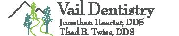 Vail Dentistry computer logo